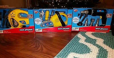 play tool set new in box 4 big sets as seen