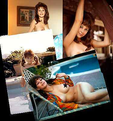 LORRIE MENCONI JOB LOT SET 10 PHOTOS 7 X 5  HOT BUSTY NUDE GLAMOUR MODEL 1960s