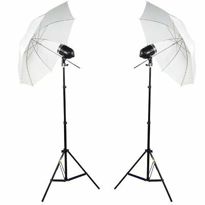 DynaSun 2X SDW80 Kit Illuminatore Flash Compatto da Studio Professionale