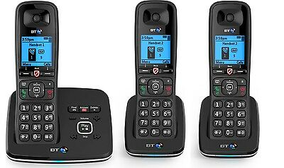 BT 6610 Trio Telephone - Dect phone with answer machine