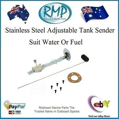 "A Brand New RMP Adjustable Stainless Steel Fuel or Water Sender Unit 5""-thru-27"""