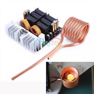 1000W High-Frequency Flyback Heater ZVS Low-Voltage Induction Heating Module