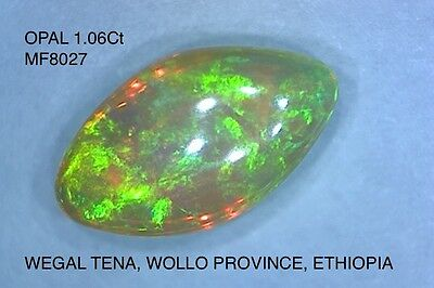 OPAL NATURAL MINED UNTREATED  1.06Ct   MF8027