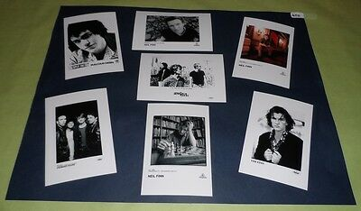 """Crowded House Set of 6""""x4""""Inch Photos x7 Collectable Memorabilia Pop Prints J450"""