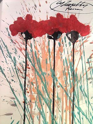 Cy Twombly---Drawing On Light Cardboard--Painting