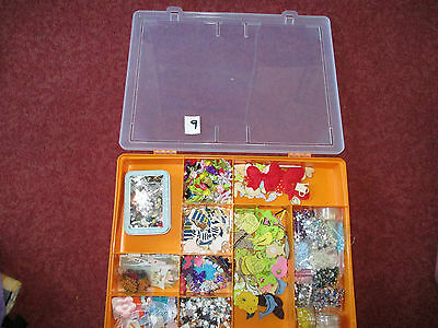 joblot of crafts  bits and bobs large box full  see  photos[ 9 ]