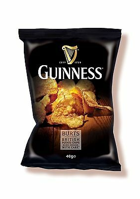 Burts Guinness Crisps 20 x 40g Box Excellent value
