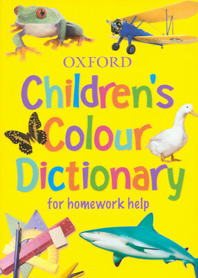 Oxford children's colour dictionary for homework help (Paperback)