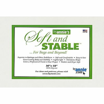 """Soft and Stable By Annies for Bags and Beyond 36"""" x 58"""""""