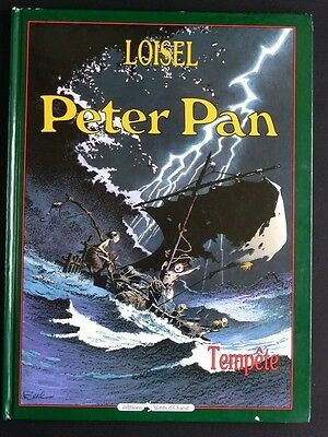 PETER PAN tome 3 TEMPETE Loisel EO BE