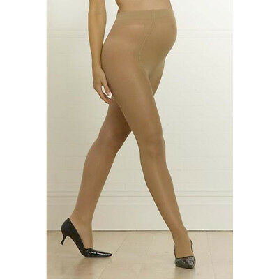 Emma Jane Maternity Tights Bump Support 20 Denier One Size Glossy