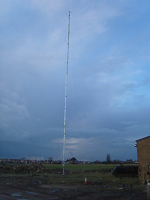 40 50 60 metre anemometer weather mast wind turbine campbell cr1000