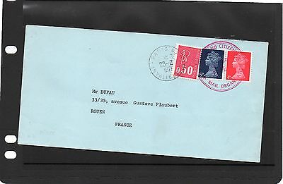 "1971 Postal Strike ""Old England Citizens"" Mail Org. cover"