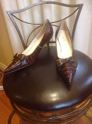 Vintage 50'S/60'S Rockabilly Pointed Shoes 7B