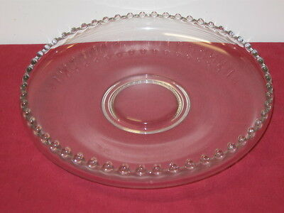 """Imperial Glass Co.  """"candlewick""""  11-Inch Float Bowl"""