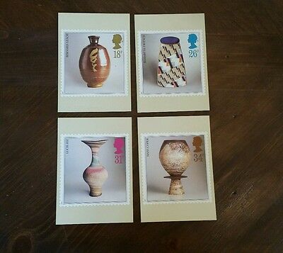 Royal Mail PHQ Cards - Studio Pottery - Set 105