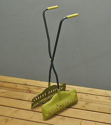 Leaf Collector Gardman Long Handled Garden Leaf Grabber Collector