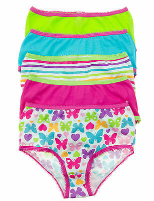 Max Girl 5 Pack Little Girls 100otton Briefs