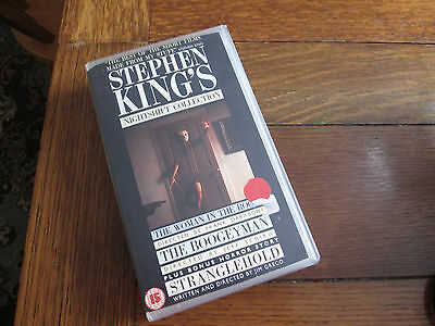 Stephen King's NIGHTSHIFT COLLECTION rare vhs pal video (1984) Frank Darabont