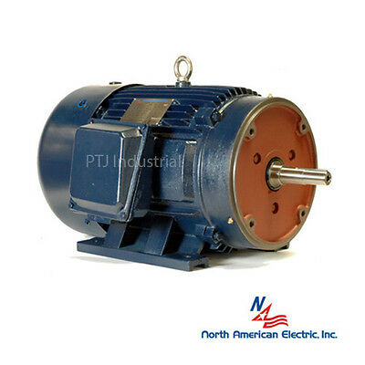 25 hp 256JP electric motor close coupled pump 3600 rpm 3 phase irrigation
