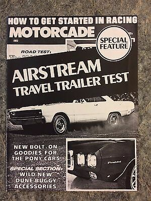 Vintage 1968 Airstream Travel Trailer Test Brochure Advertising
