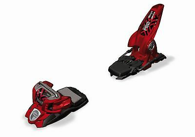 Marker Jester 18 Pro Ski Bindings (Red, 90mm) Mens Unisex All Mountain Freestyle