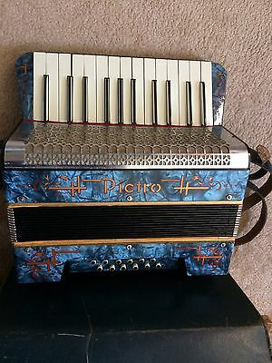 Beautiful Vintage Pietro Accordion Made In Germany With Original Case 1930/40s