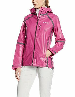 Haute Pink (TG. Small) Columbia bambini Outdry ex Platinum Shell, Bambino, Outdr