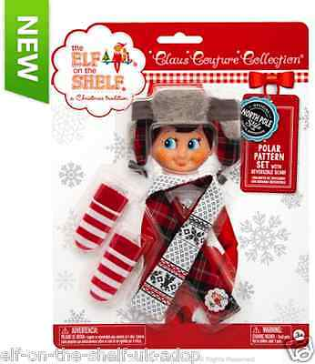 OFFICIAL The Elf on the Shelf® Claus Couture Collection® Polar Pattern Set (27)
