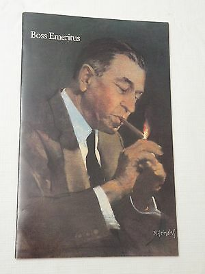 1985, Boss Emeritus, Glossy Booklet on Robert Woodruff CEO of Coca Cola, VG+