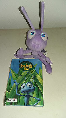 Its a Bugs Life soft toy and ladybird book bundle
