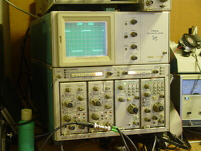 Tektronix 7A22 Differential Plugin Amplifier Working