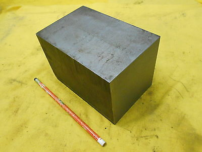 "1018 CR STEEL SQUARE BAR STOCK machine shop 4"" x 4"" x 6"" OAL"