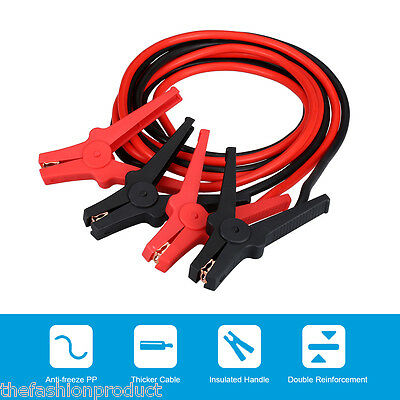 350AMP 3M Booster Cable Jump Leads Emergency Car Power Bank Auto Starter Clamps