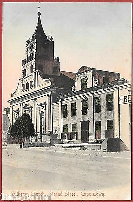 The Lutherian Church, Strand Street, Cape Town South Africa c1904.