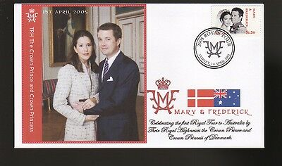Princess Mary & Frederick 2005 Aust Royal Tour Cover 2