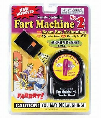 Fart Machine No. 2 - Wireless Remote Controlled ~Newest Improved Model Gag Joke