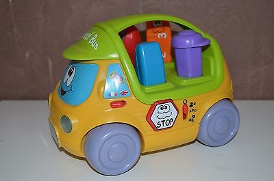 CHICCO =  School Bus musicale bilingue FAB