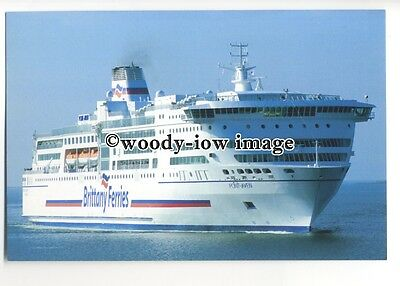 FE1257 - Brittany Ferries Ferry - Pont-Aven , built 2004 - postcard