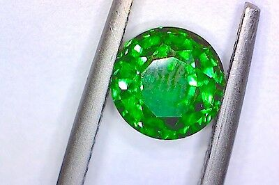 EMERALD BERYL HYDROTHERMALLY GROWN  SYNTHETIC CRYSTAL [NOT SIMULANT]  1.15Ct  MF