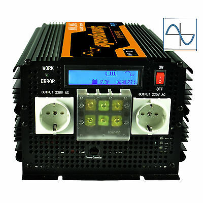 Convertitore Pure Sine Wave 12V 220V 3500W 7000W inverter with LCD Display