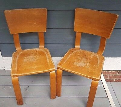 Vintage Mid Century Modern MCM Original Thonet Bentwood Childs Chair Choose One