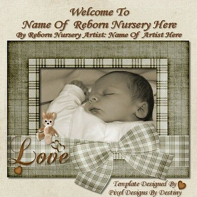 ~~Teddy Bear Reborn Auction Template With/without Music+Free Logo~~Doua