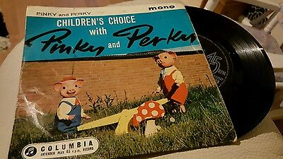 Children's Choice with Pinky and Perky 7inch vinyl 45 rpm
