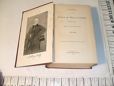 New London New Hampshire History- 1779-1899- First