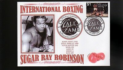 Sugar Ray Robinson Boxing Hall Of Fame Inductee Cov