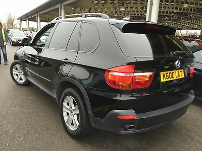 2007 Bmw X5 Se 5S 3.0D Auto Black With Cream Leather, Reverse Camera, Television