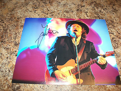 Zucchero Signed 8 X 10 Matte Photo Italian Rock Legend