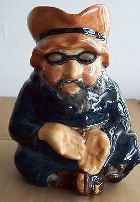 "TOBY CHARACTER JUG Beggar man  Roy Kirkham Pottery Staffordshire  5"" approx"