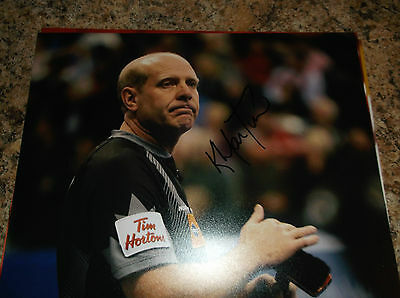 Kevin Martin Canada Curling 2010 Olympic Gold Medal Signed 8 X 10 Matte Photo B